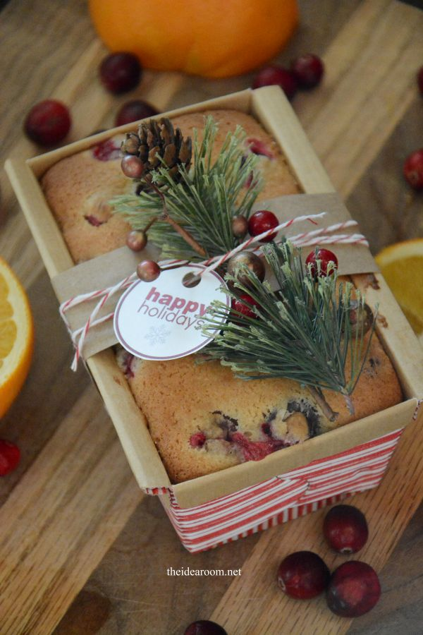 Christmas Cranberry Bread | The Everyday Home | www.everydayhomeblog.com