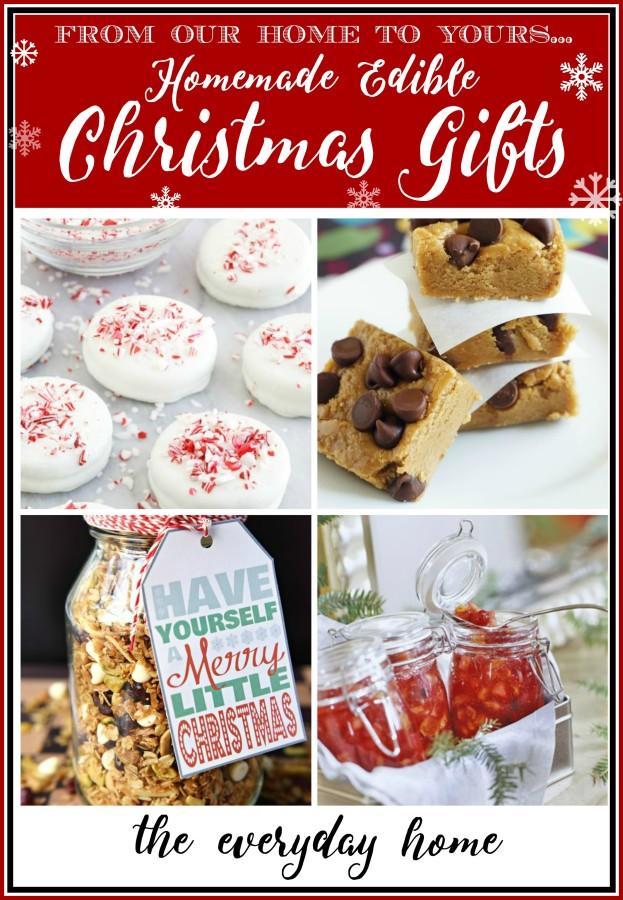 Edible Homemade Christmas Gifts | The Everyday Home | www.everydayhomeblog.com