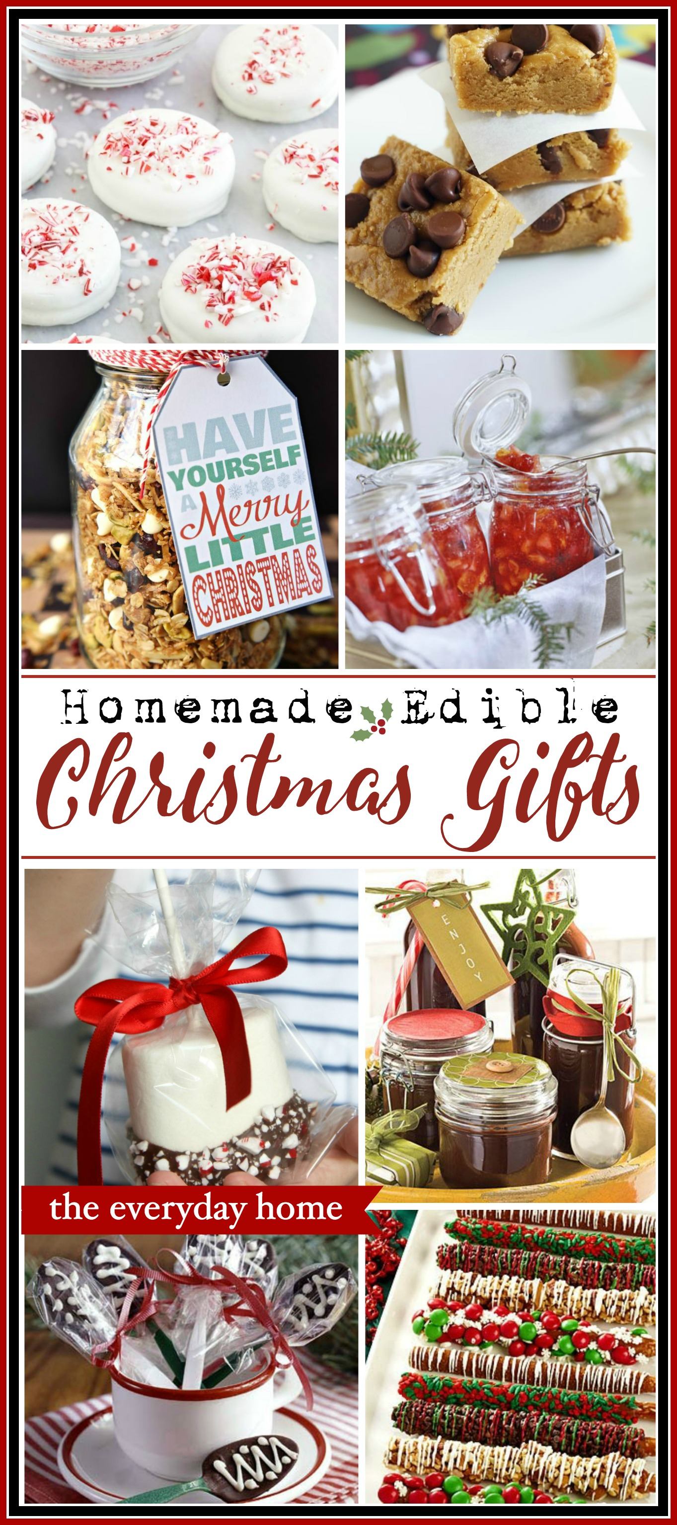 Homemade Edible Christmas Gifts   The Everyday Home   www.everydayhomeblog.com