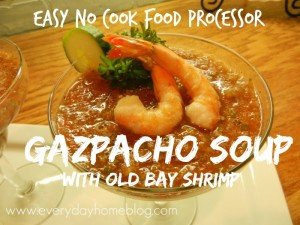 Easy Gazpacho Soup Recipe – NO Cook!