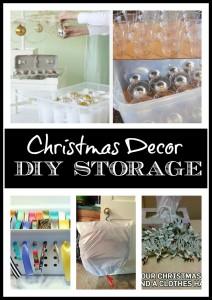 DIY Storage Ideas for Christmas Decor
