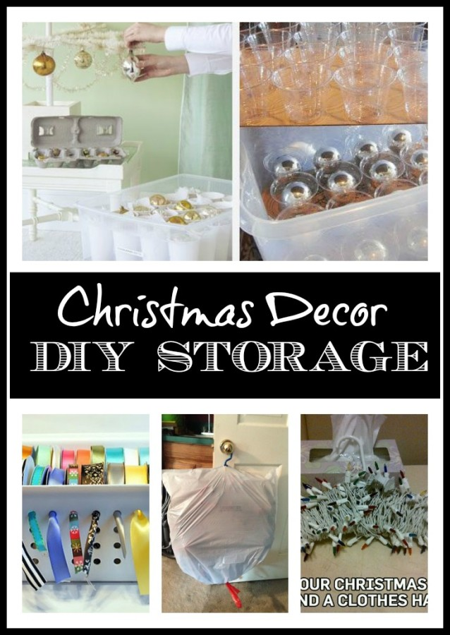 DIY Ideas for Storing Christmas Decorations at The Everyday Home  sc 1 st  The Everyday Home & DIY Storage Ideas for Christmas Decor - The Everyday Home
