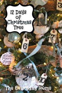 Twelve Days of Christmas {Tree}
