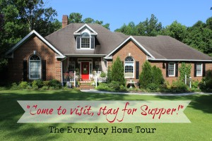 Come to Visit, Stay for Supper! {Summer Home Tour 2013}