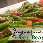 Healthy Green Bean Recipe {Tasty Tuesday}