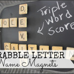 Scrabble Name Magnets