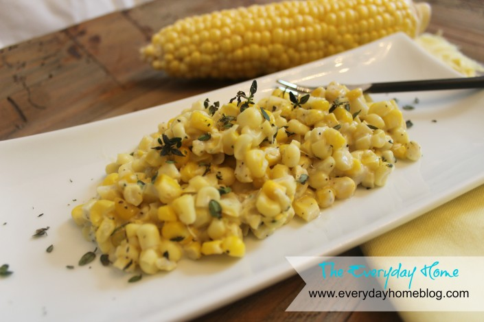 Homemade Creamed Corn (gluten free) by The Everyday Home