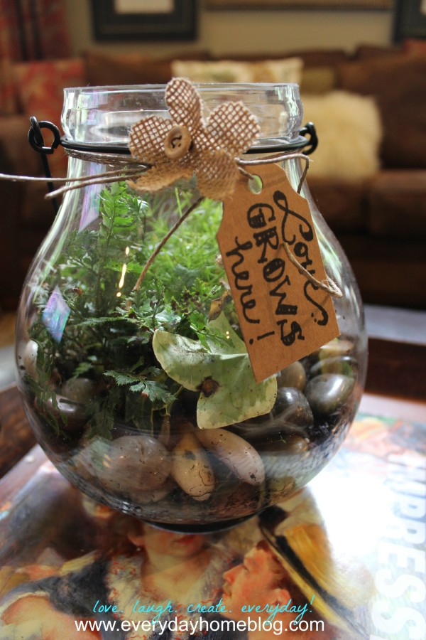 Candleholder Terrarium  at The Everyday Home