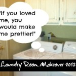 Laundry Room {the ugly truth exposed}