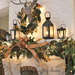 Christmas Mantel {Oh deer!}