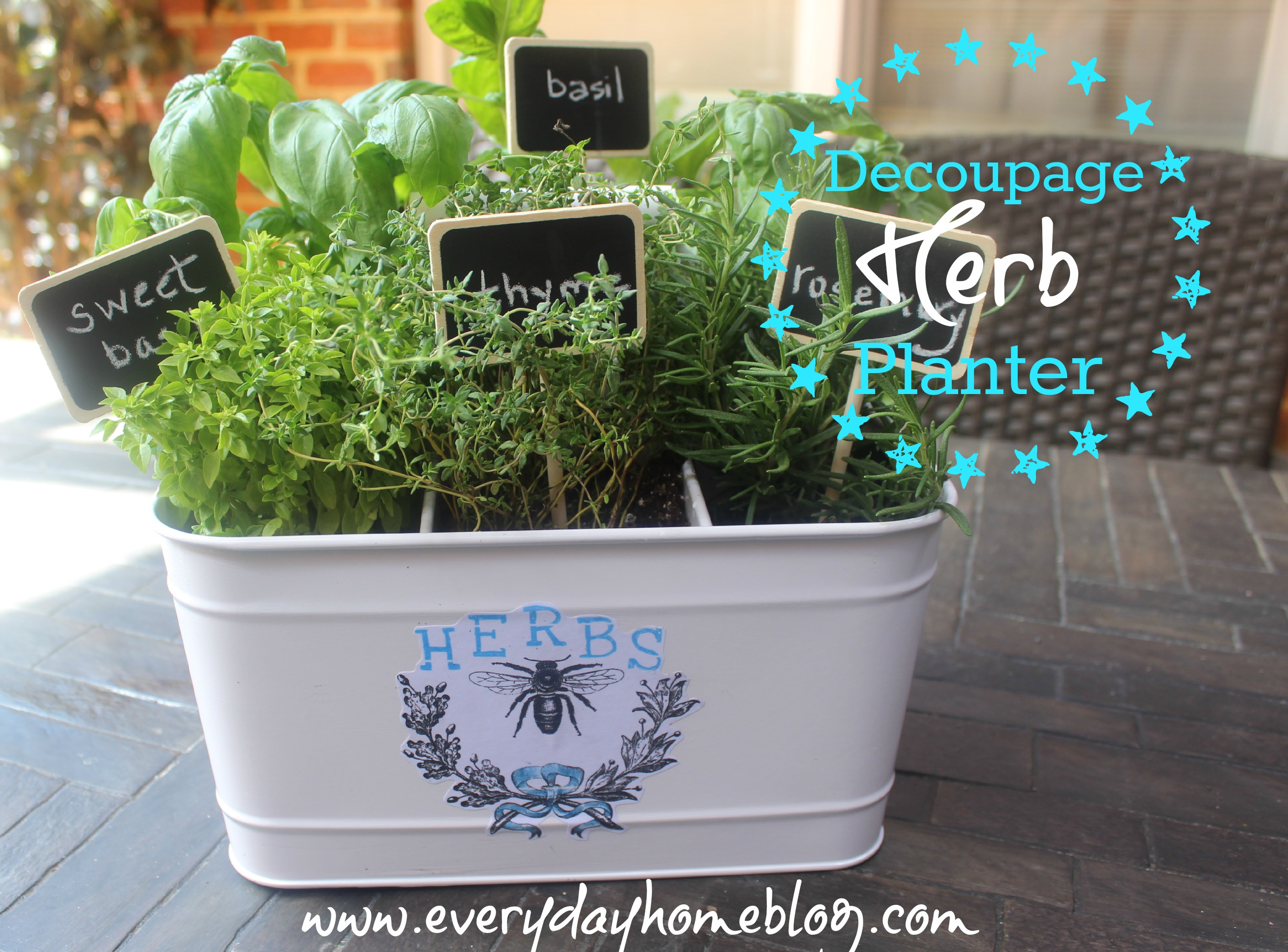 diy guy s lazy mothers herb day self mother watering planter