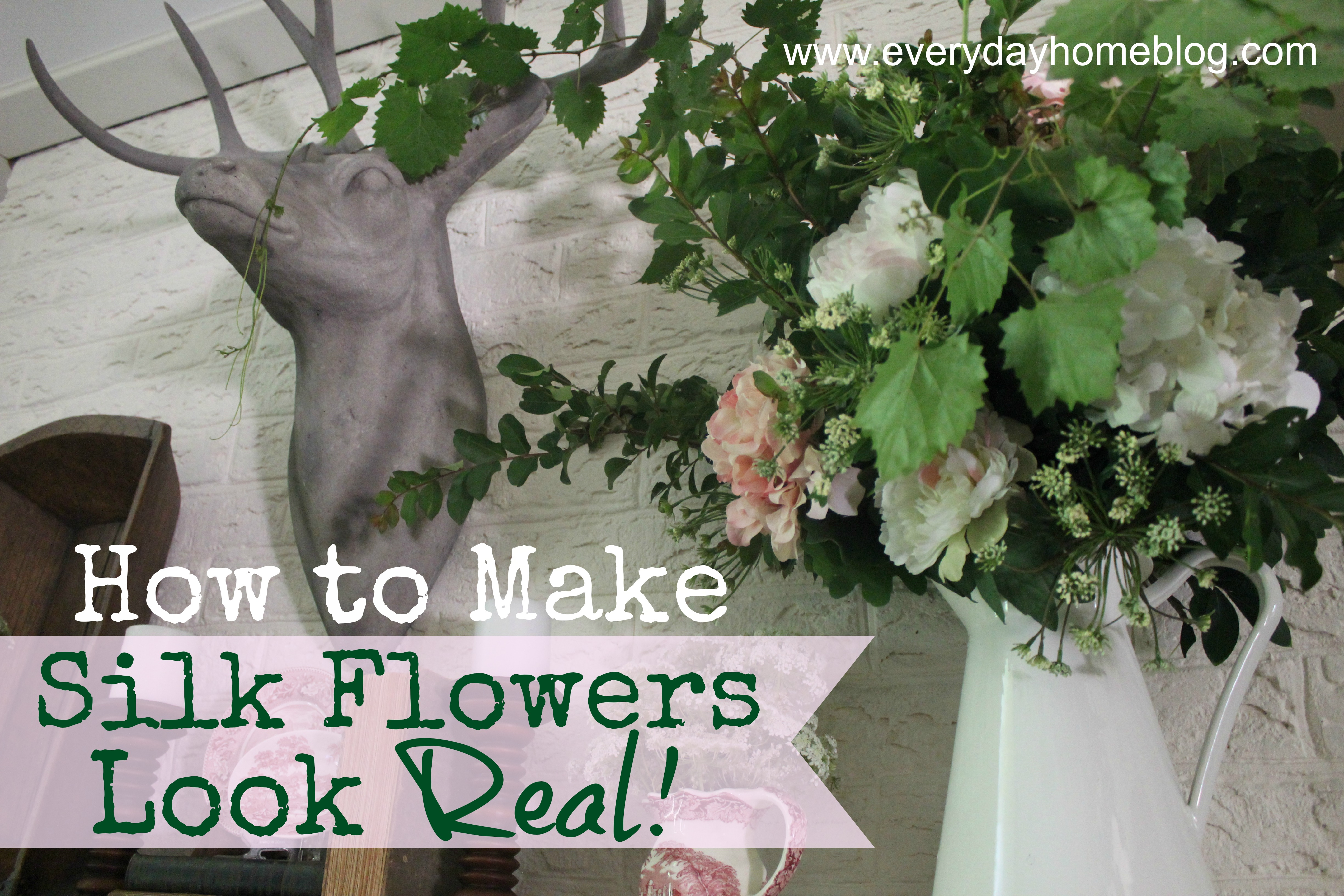 How To Make Silk Flowers Look Real By The Everyday Home The