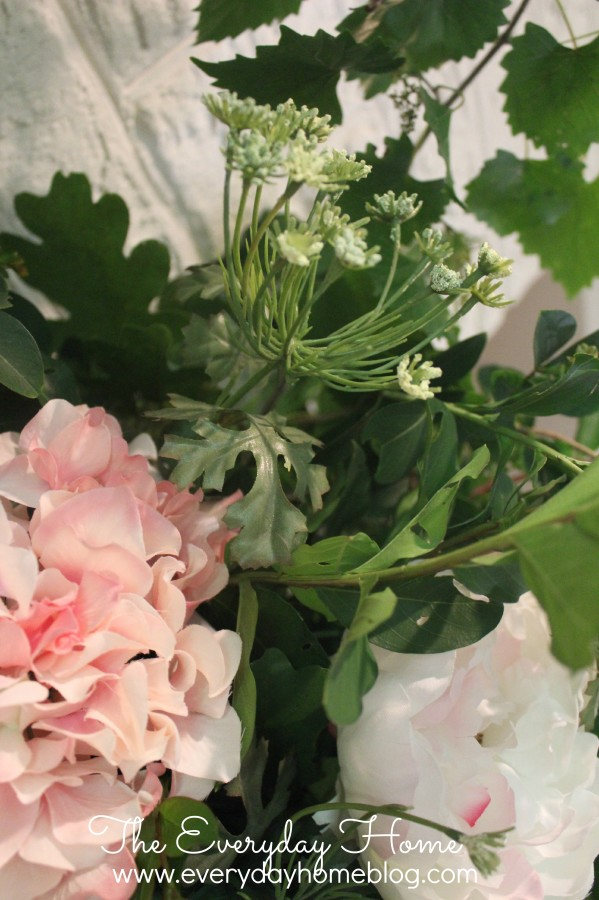 How to use silk flowers so they look fool the eye real by the how to make silk flowers look real by the everyday home mightylinksfo