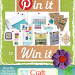 Pin It to Win It! {consumercrafts.com}