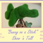 """Bunny on a Stick"" Show and Tell!"