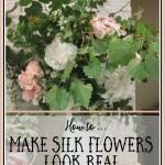 Silk Flowers That Fool the Eye