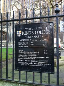 Our Trip to England: Cambridge Pt 3