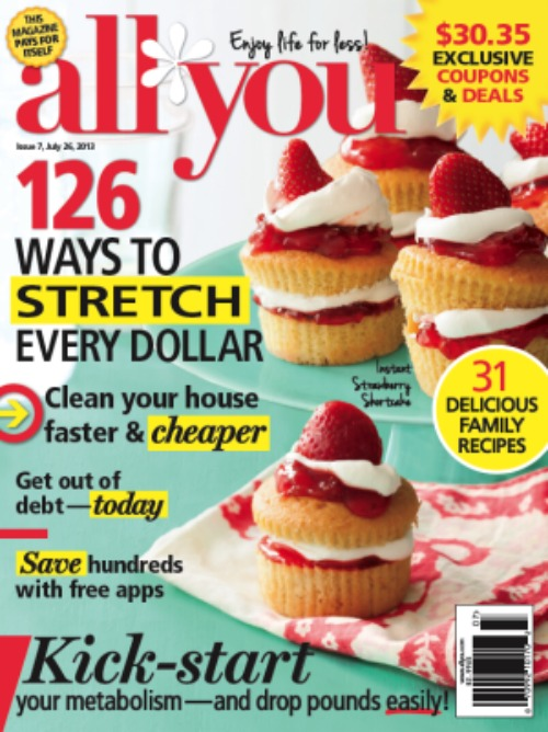 All You Magazine July 2013