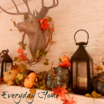 Fall Mantel {…a love affair professed}