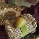 Easy Fall Acorn Napkin Rings