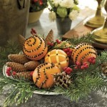 Deck the halls with bags of fruit….