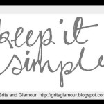 Keep It Simple Blog Party!….. mark your calendars!