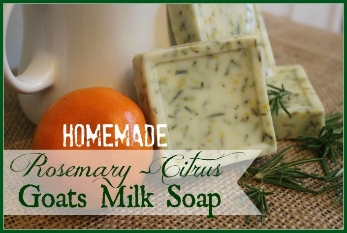 Homemade Goats Milk Soap by The Everyday Home