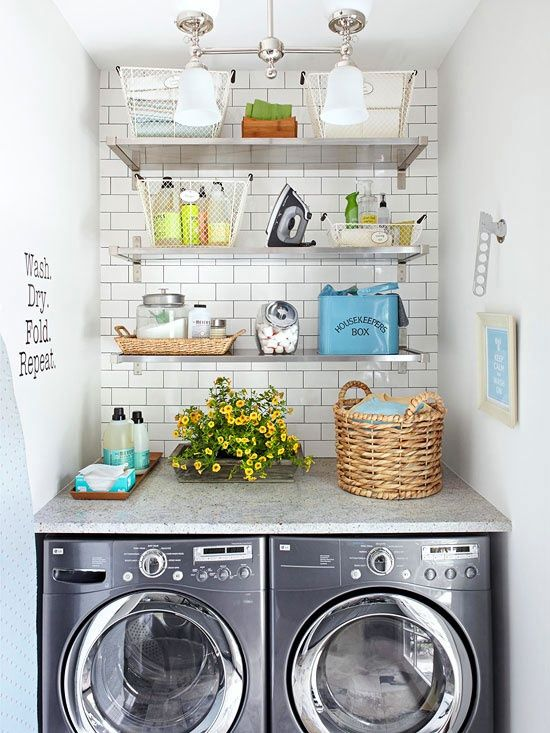 8-Tips for Creating a Great Laundry Room by The Everyday Home | www.everydayhomeblog.com