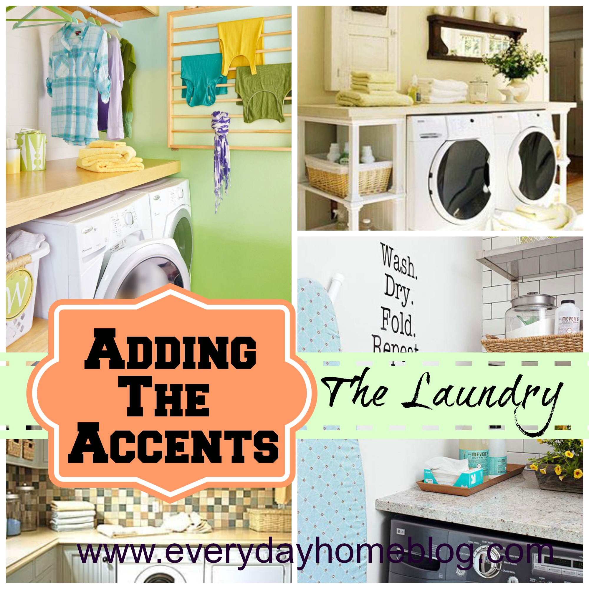 Diy Laundry Room Decor 8 Tips For Creating A Great Laundry Room By The Everyday Home