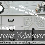 Salvaged Dresser Makeover