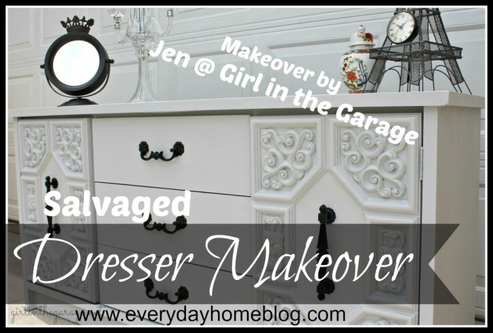 Furniture Makeover at The Everyday Home Blog