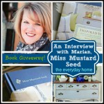 Miss Mustard Seed Interview and Book Giveaway