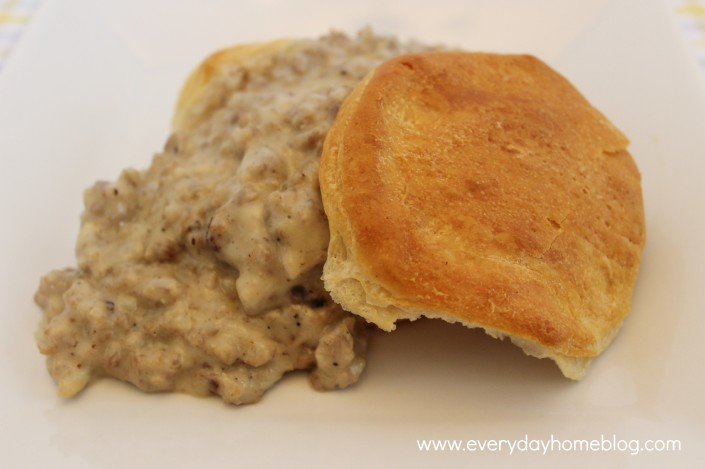Sausage Gravy at The Everyday Home