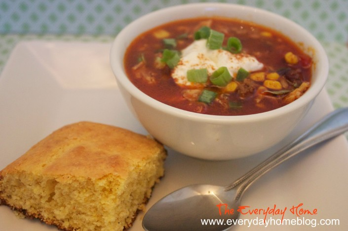 Taco Soup Recipe by The Everyday Home