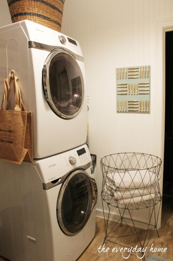8-Tips to Create a Great Laundry Room by The Everyday Home | www.everydayhomeblog.com