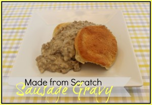 "Sausage Gravy Recipe {it ain't ""purty""}"