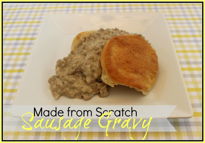 Sausage Gravy Recipe by The Everyday Home