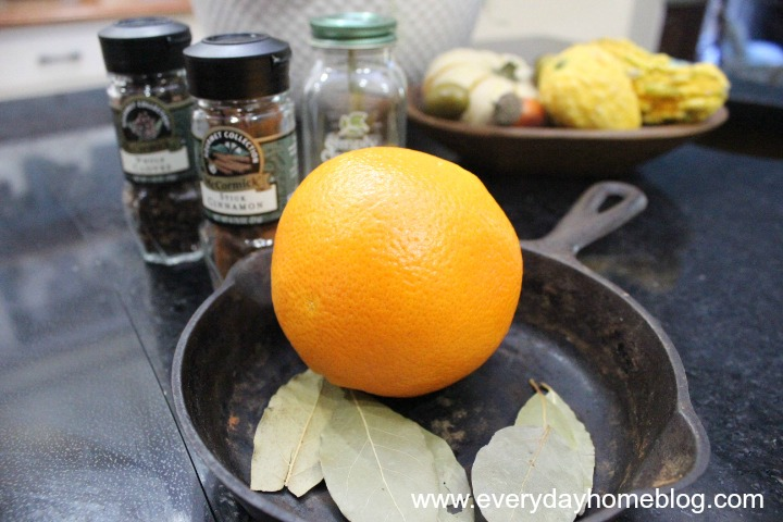 Easy, Homemade Autumn Boiling Spice by The Everyday Home #FALL #DIY