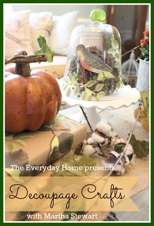 Martha Stewart Decoupage Crafts The Everyday Home