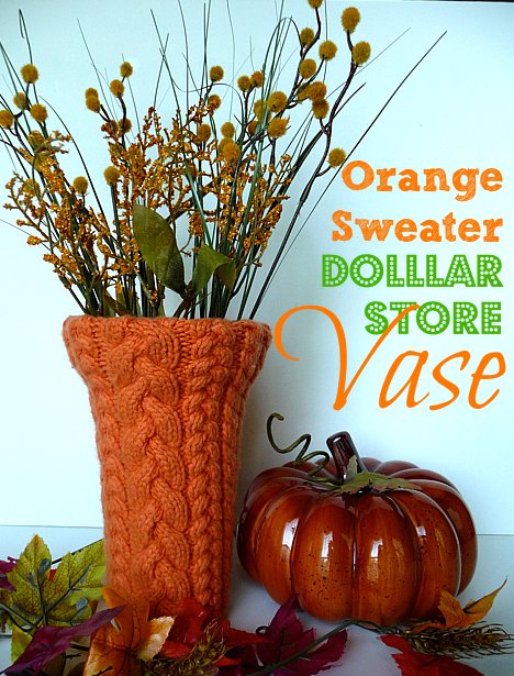 Orange-sweater-dollar-store-vase-5