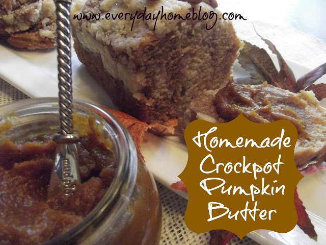 Crockpot Pumpkin Butter at The Everyday Home