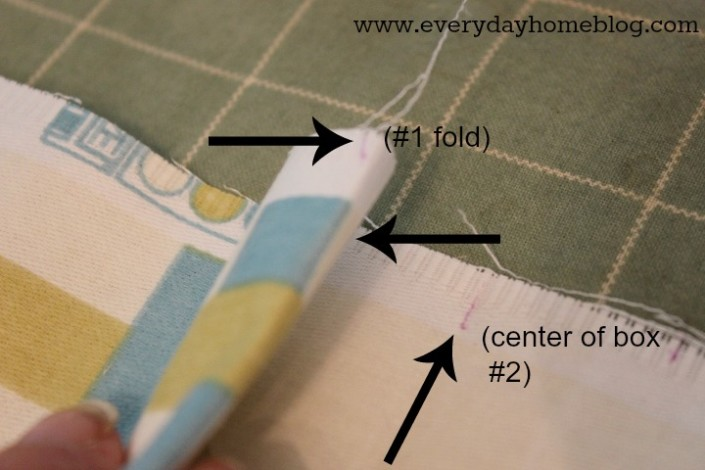 How to Make a Box-Pleated Chair Skirt by The Everyday Home