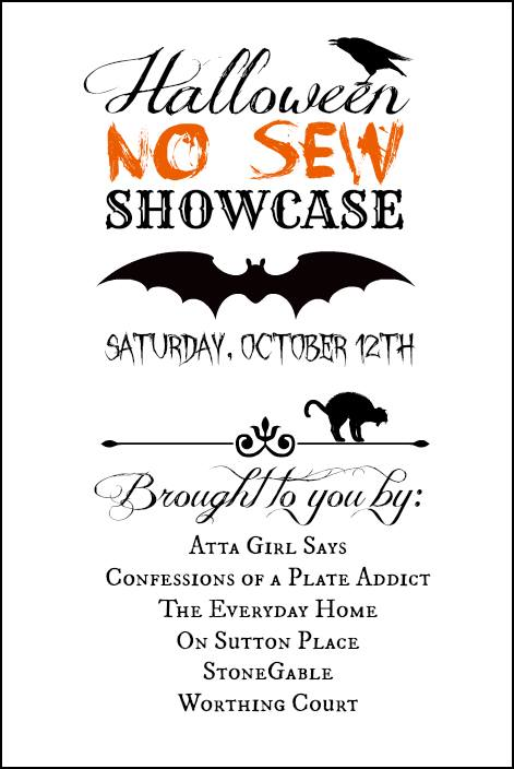 No-Sew Showcase: Halloween at The Everyday Home