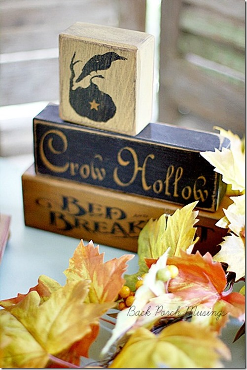 Welcome October by Back Porch Musings at The Everyday Home