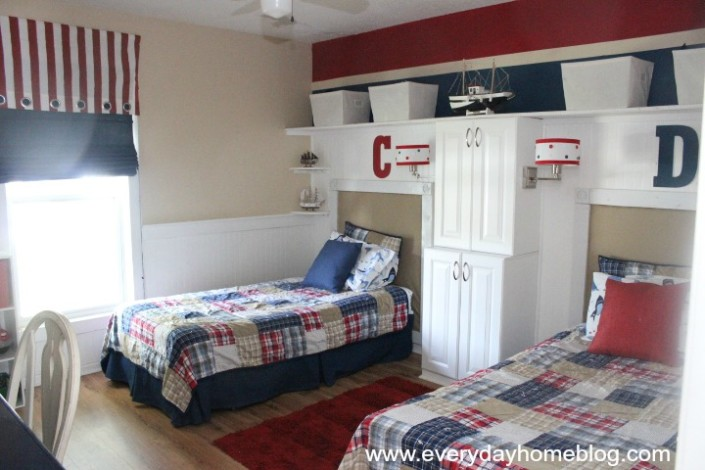 Pottery Barn Inspired Boys Bedroom by The Everyday Home