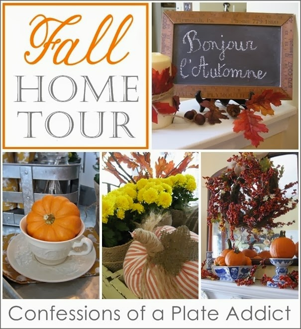 Confession of a Plate Addict Fall Home Tour at The Everyday Home