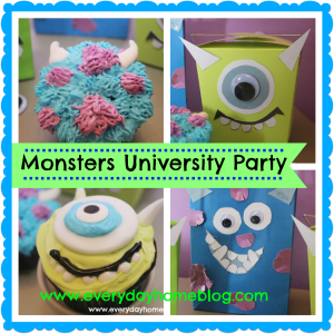 A Monsters University Party