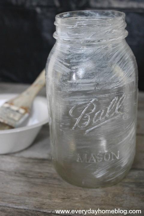 Mason Jar Mummy Lanterns by The Everyday Home