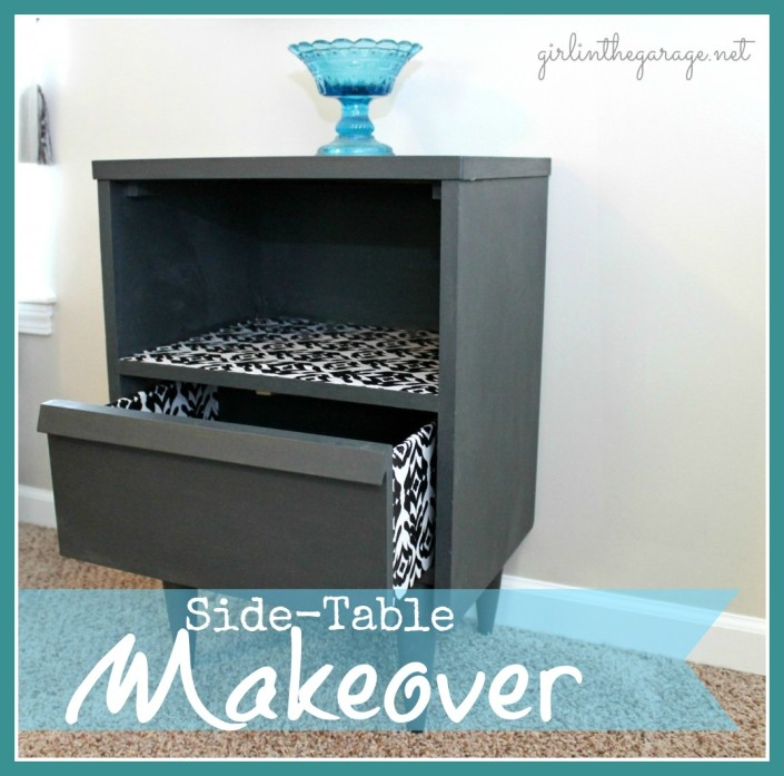 Side Table Makeover at The Everyday Home