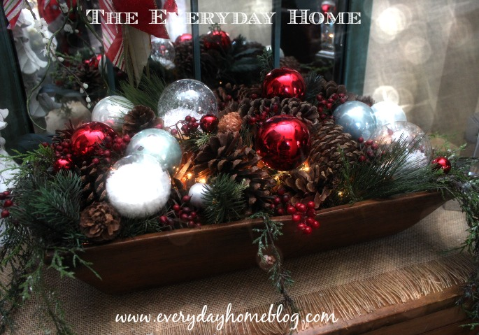 How to Make a Lighted Doughbowl (or Basket) at The Everyday Home